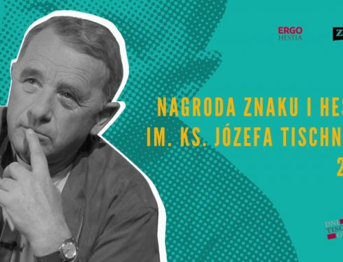 Laureaci Nagrody Znaku i Hestii im. Ks. Józefa Tischnera 2017