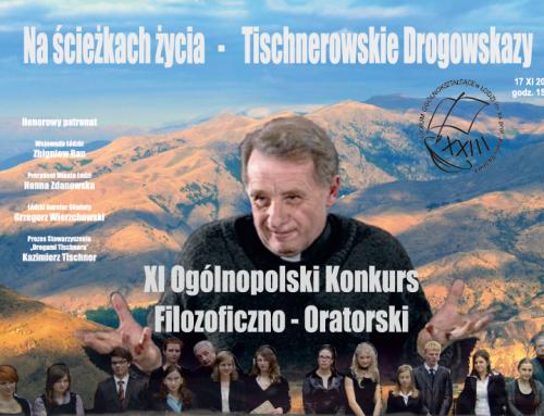"""""""Tischnerowskie drogowskazy"""" po raz jedenasty"""