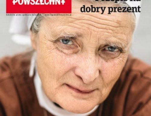 Małgorzata Chmielewska i prezenty