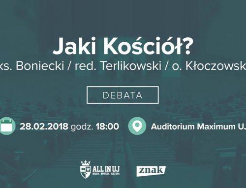 """""""Jaki Kościół?"""" – ważna debata w Krakowie"""