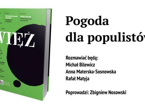 W Warszawie o populizmie
