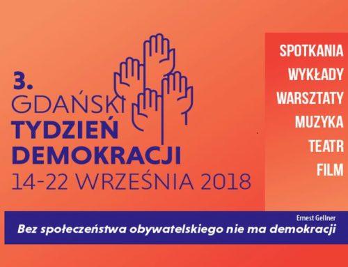 """""""Bez społeczeństwa obywatelskiego nie ma demokracji"""""""