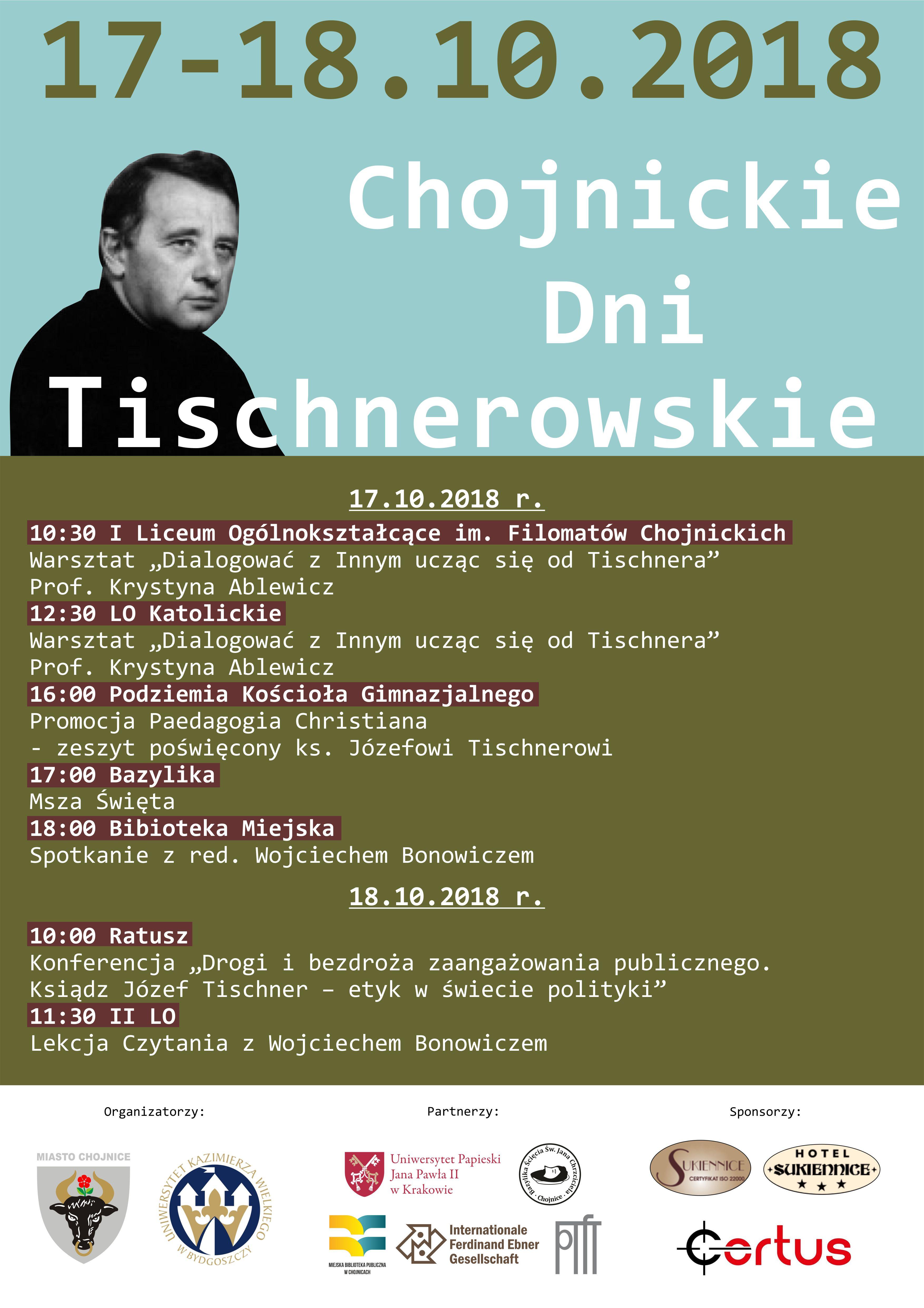 Chojnickie Dni Tischnerowskie po raz trzeci
