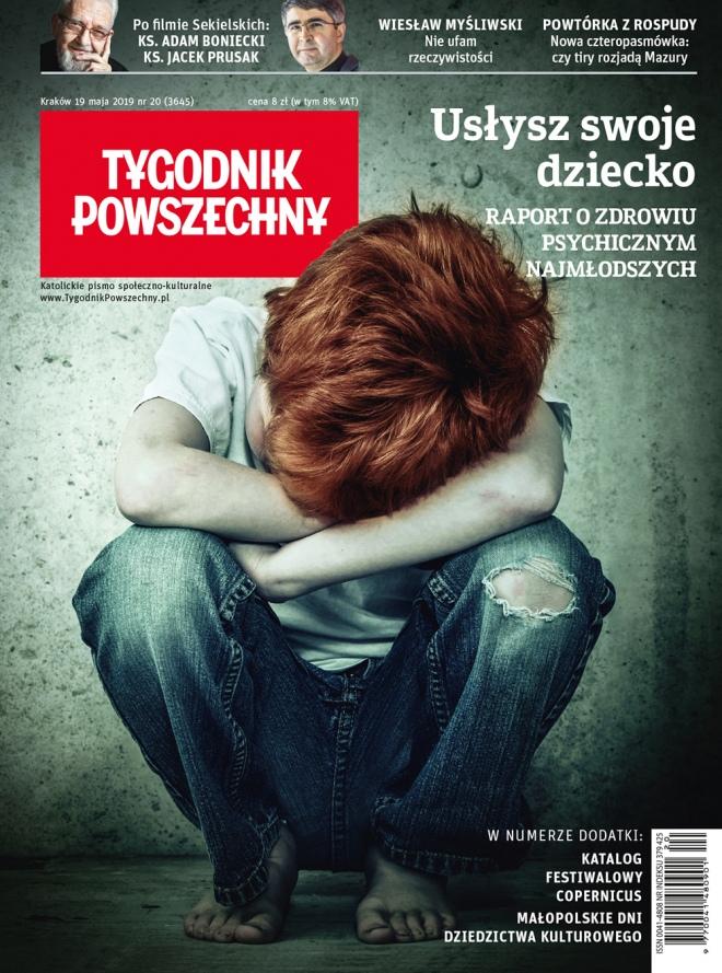 """""""Tygodnik Powszechny"""": Usłyszeć dziecko"""