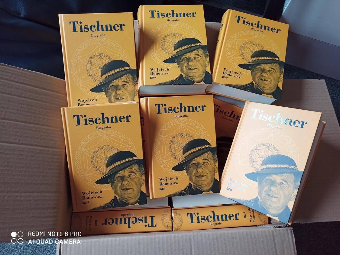 Jest dodruk biografii Tischnera!