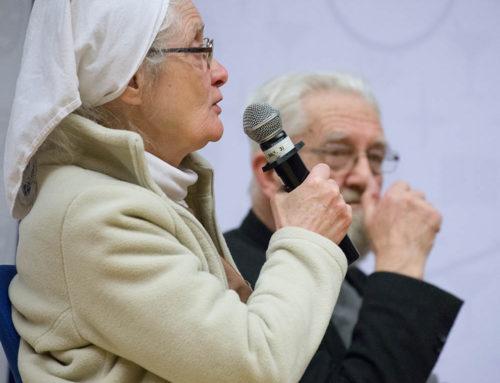 """S. Chmielewska: """"Krzyk ubogich dociera do uszu Boga"""""""