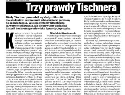 """Tischner znów w """"Przekroju"""""""